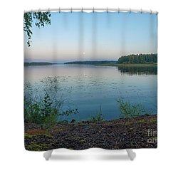 Moonlight Water Shower Curtain