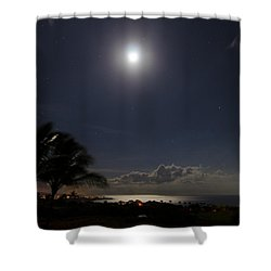 Moonlit Bay Shower Curtain