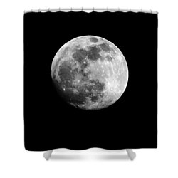 Shower Curtain featuring the photograph Moonlit Dreams by Chris Fraser