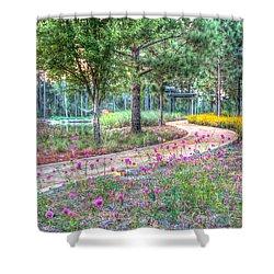 Moore Garden Stroll Shower Curtain
