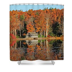 Moore State Park Autumn I Shower Curtain
