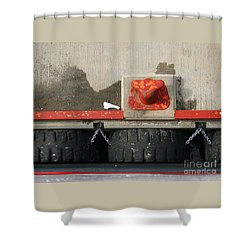 Shower Curtain featuring the photograph Moored by PJ Boylan