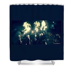 Shower Curtain featuring the photograph Moorish Army  by Stwayne Keubrick