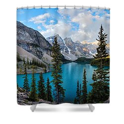 Moraine Shower Curtain
