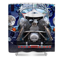 Morgan Aero Frontal Shower Curtain