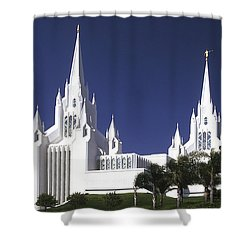Mormon Temple Shower Curtain