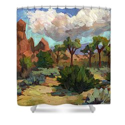 Morning At Joshua Shower Curtain