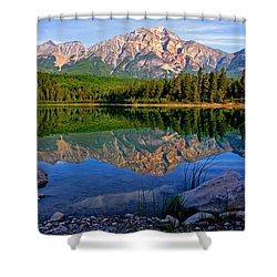 Morning At Pyramid Lake Shower Curtain