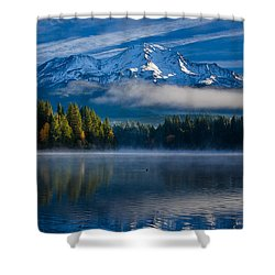 Morning At Siskiyou Lake Shower Curtain