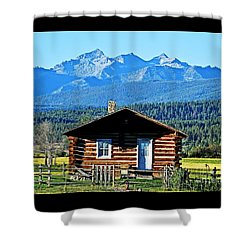 Shower Curtain featuring the photograph Morning At The Getaway by Joseph J Stevens