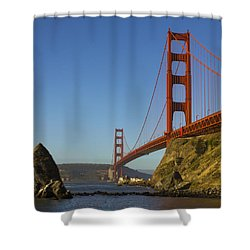 Morning At The Golden Gate Shower Curtain