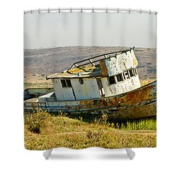 Morning At The Pt Reyes Shower Curtain