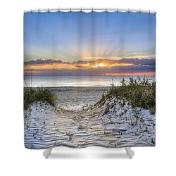 Morning Blessing Shower Curtain