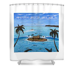 Morning Breeze Cruise Shower Curtain