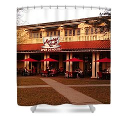 Morning Call In The Oaks - New Orleans City Park Shower Curtain