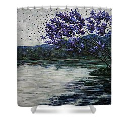 Morning Clarity Shower Curtain