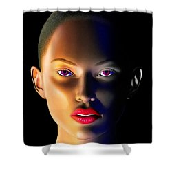 Shower Curtain featuring the digital art Morning Dew by Anthony Mwangi