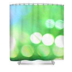 Morning Dew Shower Curtain by Dazzle Zazz