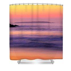 Morning Dream Singing Beach Shower Curtain