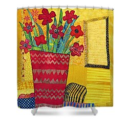 Morning Dreams Shower Curtain by Susan Rienzo