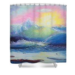 Morning Shower Curtain by Elena Sokolova