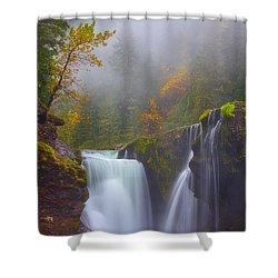 Morning Fog Shower Curtain