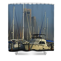 Morning Fog Ll Shower Curtain