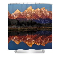 Shower Curtain featuring the photograph Morning Glory by Benjamin Yeager