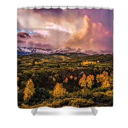 Shower Curtain featuring the photograph Morning Glory by Ken Smith