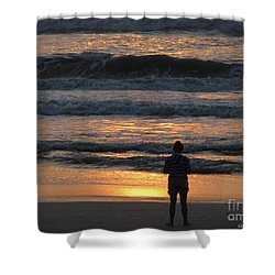 Shower Curtain featuring the photograph Morning Has Broken by Greg Patzer