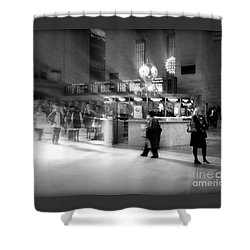 Morning In Grand Central Shower Curtain