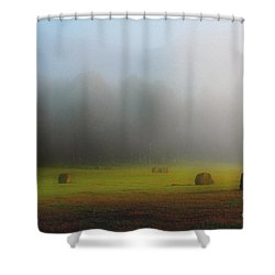 Morning In The Cove Shower Curtain