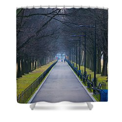 Morning In Washington D.c. Shower Curtain