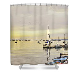 Morning Light Rockland Maine Shower Curtain