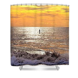 Sunrise Solitude Shower Curtain