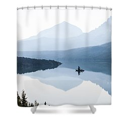 Morning Mist Shower Curtain by Aaron Aldrich