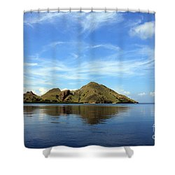Morning On Komodo Shower Curtain by Sergey Lukashin