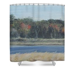 Morning On The Maurice River Shower Curtain