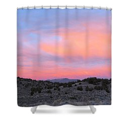 Morning Paints Shower Curtain