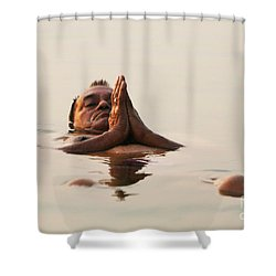 Shower Curtain featuring the photograph Morning Prayer by PJ Boylan