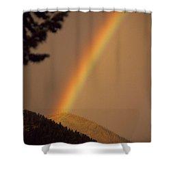 Morning Rainbow Shower Curtain