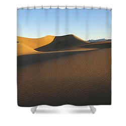 Shower Curtain featuring the photograph Morning Shadows by Joe Schofield