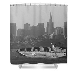Morning Shipment Shower Curtain