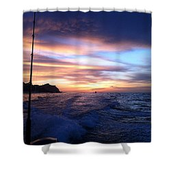 Morning Skies Shower Curtain