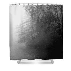 Morning Stillness Shower Curtain