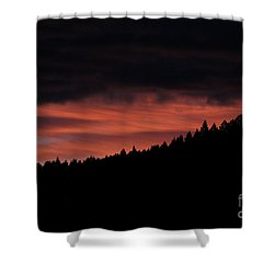 Shower Curtain featuring the photograph Morning View by Ann E Robson