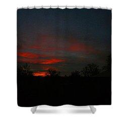 Mornings Early Light 012913 Shower Curtain by Joyce Dickens