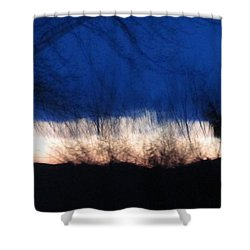 Mornings Love  Shower Curtain by Robert  Nacke