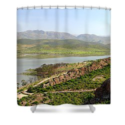 Moroccan Countryside 1 Shower Curtain
