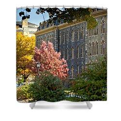 Morrill Hall Cornell University Shower Curtain